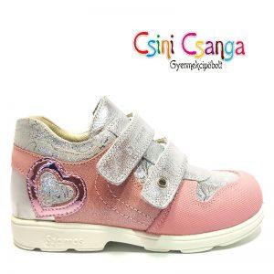 Ezüst rózsaszín szupinált Szamos cipő