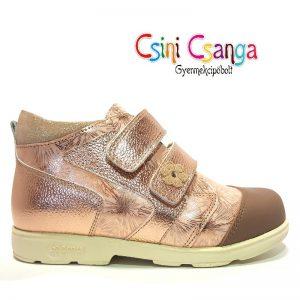 Arany csillogós Szamos cipő