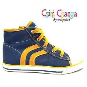 Kék fűzős, cipzáros Primigi cipő