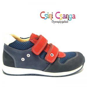 Kék-piros Szamos cipő