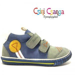 Szürke-kék-fehér Szamos cipő