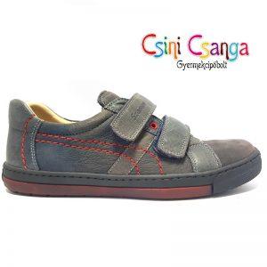 Sötétkék Szamos bőr cipő