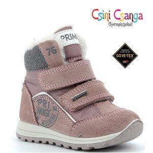 Rózsaszín-ezüst Primigi téli cipő