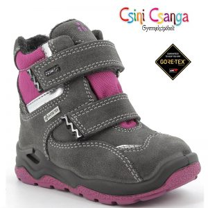Lila-szürke Primigi téli cipő