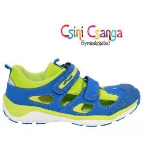 Kék-zöld nyitott Superfit cipő