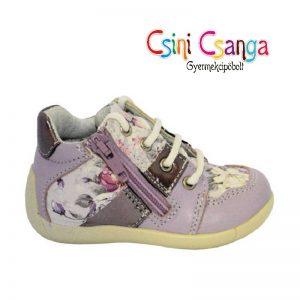 Primigi lila virágos cipő