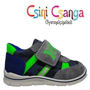 Primigi szürke zöld cipő