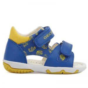 Geox kék-sárga fiú szandál