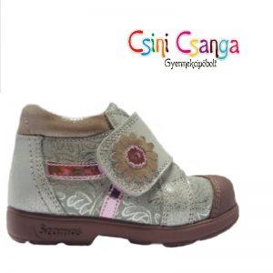 Ezüst rózsaszín szupinált lány cipő