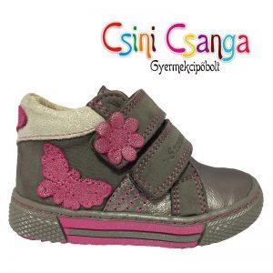 Ezüst-pink Szamos cipő