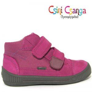 Lila Superfit vízálló bőrcipő