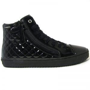 Geox fekete lakk cipő
