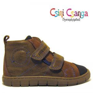 Barna-fekete bőr Primigi cipő