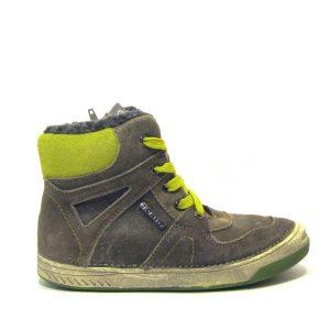 D.d.step fiú szürke-zöld téli cipő
