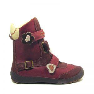 D.d.step bordó téli lány cipő