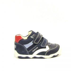 Geox kék-fehér cipő