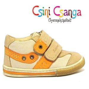 Bézs narancs Szamos cipő