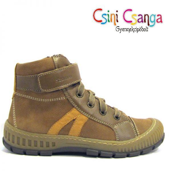 Barna fűzős Szamos cipő