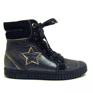D.d.step fekete téli lány cipő