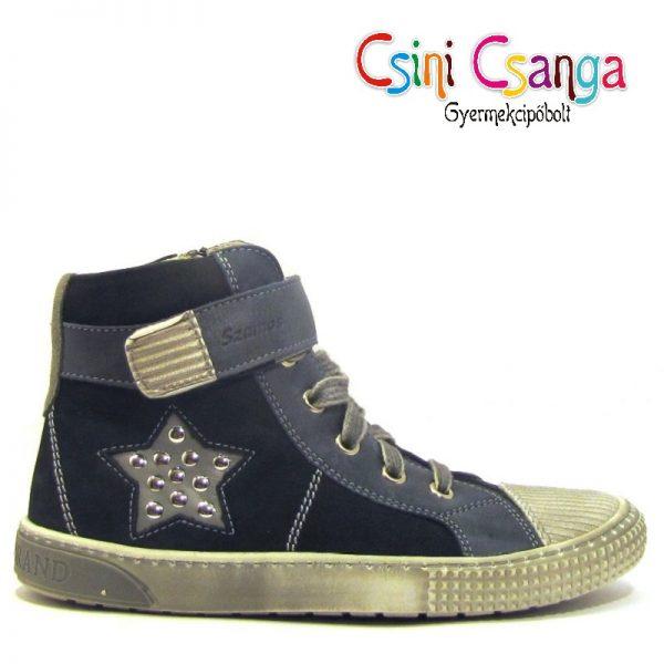 Csillagos fűzős Szamos cipő