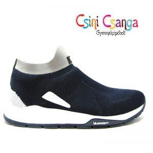 Kék bebújós sportcipő