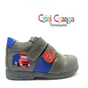 Kamionos szürke szupinált Szamos cipő