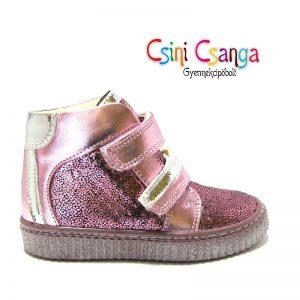 Pink-ezüst Szamos cipő