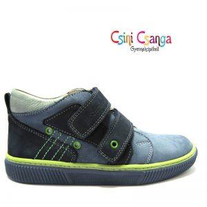 Kék- szürke-zöld Szamos cipő