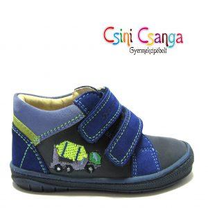 Kukás autós kék-zöld Szamos cipő