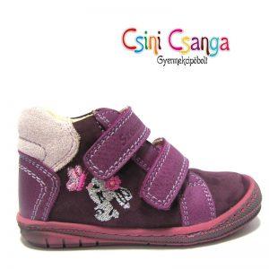 Nyuszis lila Szamos cipő