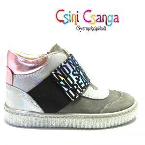 Csillogós gumipántos Szamos cipő