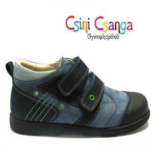 Sötétkék-világoskék Szamos cipő