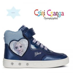 Frozen II cipzáros világítós Geox cipő
