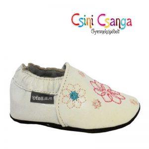 D.D.Step Fehér baba cipő