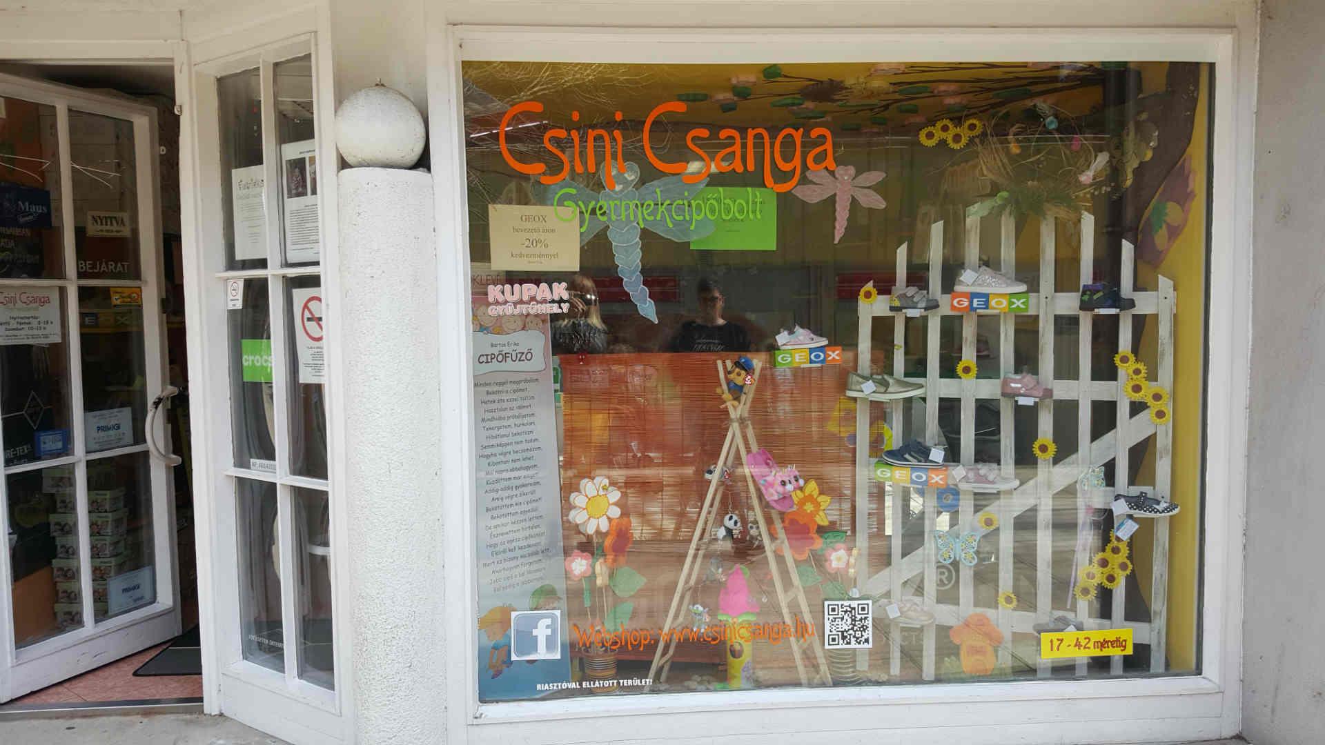 Csini Csanga Gyermekcipőbolt