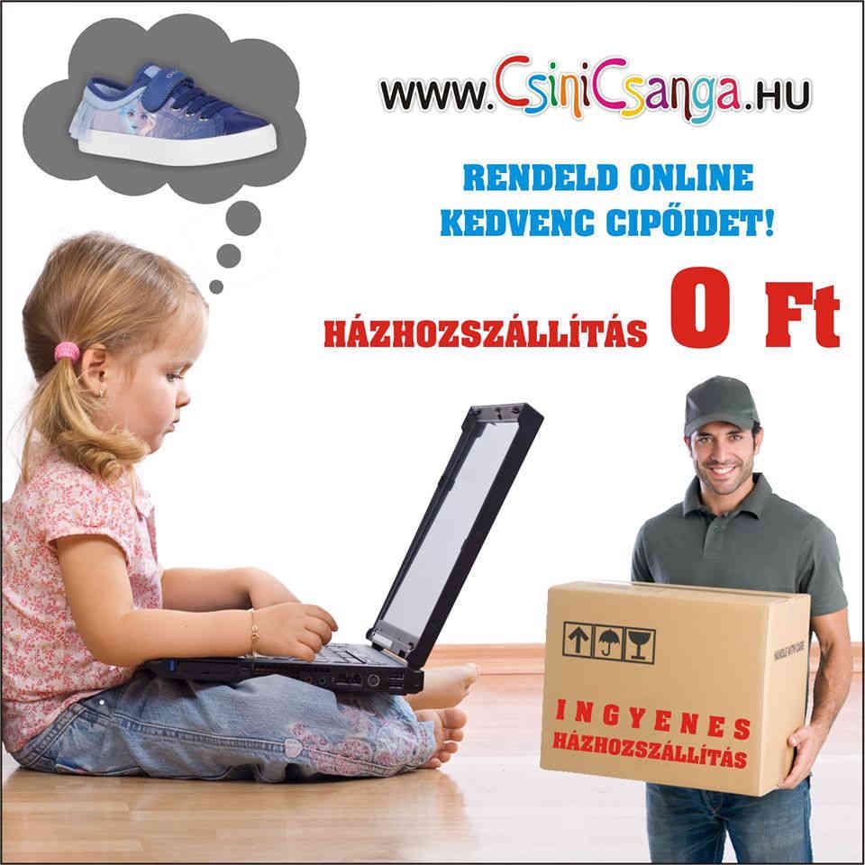 ingyenes szállítás csinicsanga.hu